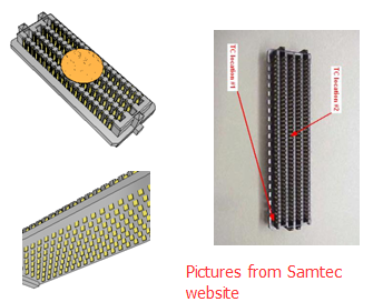 high density smt connector