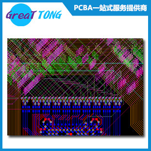 Shenzhen Grande Electronic offers 6 Layers Corn Module PCB layout / ARM Processor / 18-year experienced layout team
